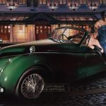 Bridgitt Reuver Artist | Automotive Art | Rob Hefferan