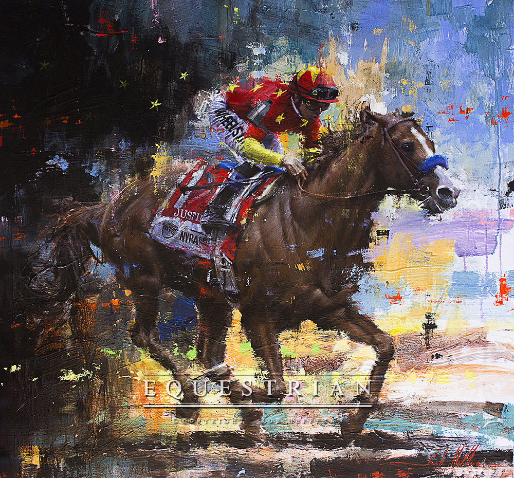 Justify,Painting,Rob Hefferan,